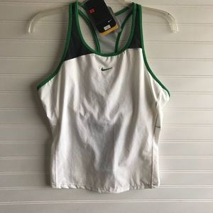 Nike DriFit Sport Tank With Built In Bra NWT!